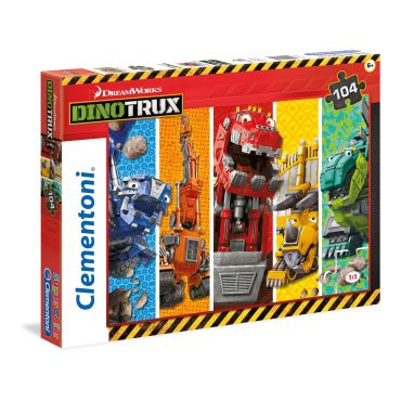 "Пазл SuperColor Clementoni ""Dinotrux"", 104 эл., 27971"