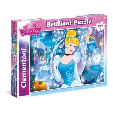 """Пазл Brilliant Puzzle Clementoni """"Золушка"""", 104 эл., 20132"""