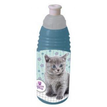 Бидончик пластиковый Sweet Pets котенок, 606654