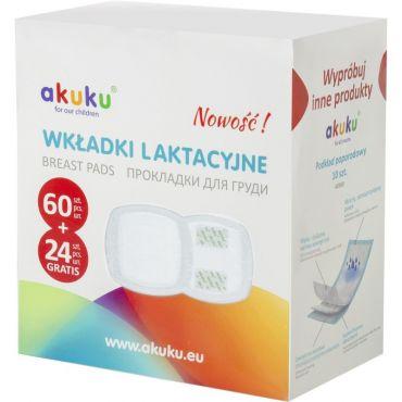 Прокладки для грудей 84 шт. , Akuku, A0368