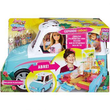 """Игровой набор Barbie """"Фургон для щенков"""", Mattel, DLY33"""