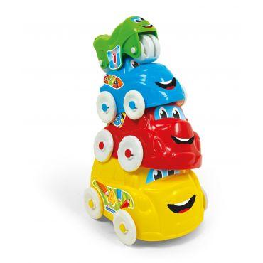 """Розвиваюча іграшка """"Веселі машинки"""" Clementoni, 17111"""