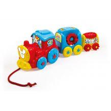 """Развивающая игрушка """"Забавный поезд"""" Clementoni, 17168"""