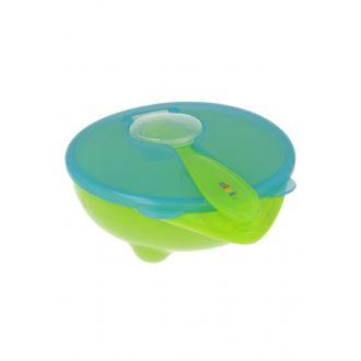 Тарілочка-контейнер з ложкою akuku, 4+, A0255