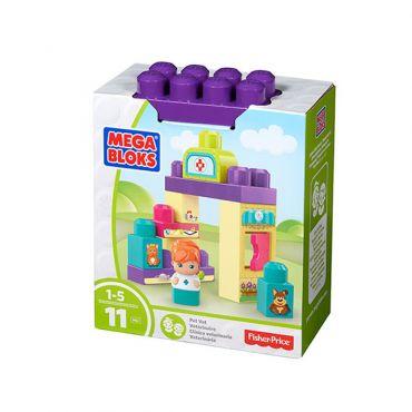 Игровой набор Полицейский участок Mega Bloks, DYC56/DYC54