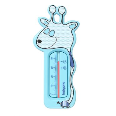 """Термометр для ванны """"Жираф"""" голубой, BabyOno, 775/01"""