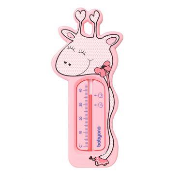 "Термометр для ванны ""Жираф"" розовый, BabyOno, 775/01"