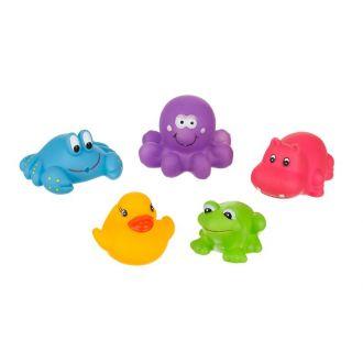 Іграшка для ванни Веселі звірята, A0363