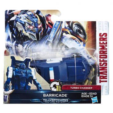 "Трансформери 5 ""Last knight"" Turbo changer - Баррікейд, C0884/C1313"