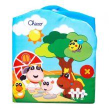 Іграшка 2в1 книжечка - театр Тварини на фермі, Chicco, 07897