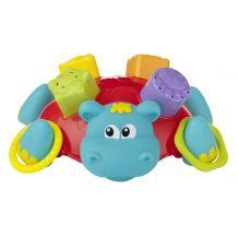 Іграшка для ванної сортер Гіпопотам, PlayGro, 0186575