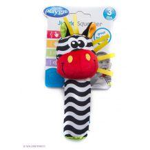Іграшка-пищалка Зебра ,PlayGro,0183439