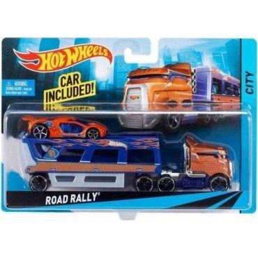 Машина далекобійника Road Rally Hot Wheels, BDW58