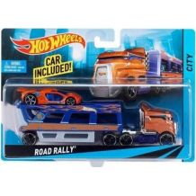 Машина далекобійника Road Rally Hot Wheels, BDW58