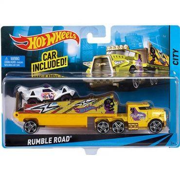 Машина далекобійника Rumble Road Hot Wheels, BDW56