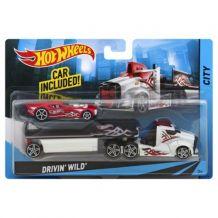 Машина дальнобойщика Hot Wheels Drivin` Wild, BDW51