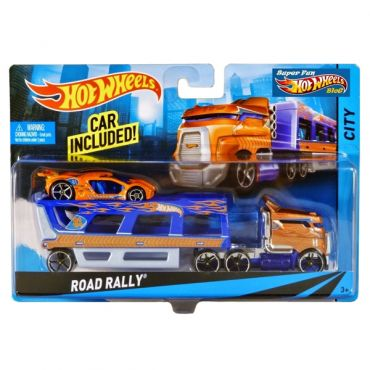 Машина далекобійника Road Rally Hot Wheels, BDW51