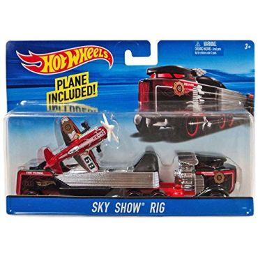 Машина дальнобійника Sky Show Rig Hot Wheels, BDW51