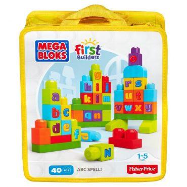 Mega Bloks конструктор серии First Builders «ABC», DKX58