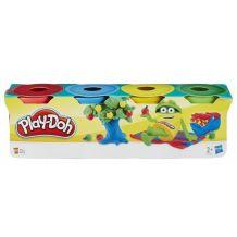 Пластилін Play Doh в 4-х баночках, 224 г, 23241