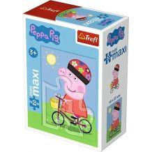 """Пазл Trefl Maxi mini """"Пеппа на велосипеде"""", 21002"""