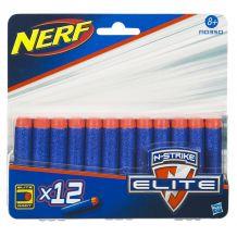 Патроны Elite N-strike 12шт Hasbro Nerf, A0350