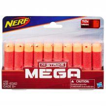 Патроны N-Strike MEGA 10шт Hasbro Nerf, A4368