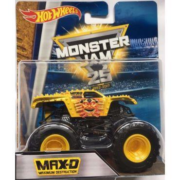 """Машина-внедорожник MAX-D серии """"Monster Jam"""" Hot Wheels, BHP37"""
