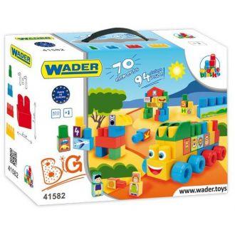 Конструктор Wader Middle Blocks (70 ел.) 41582