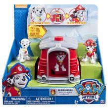 Игровой набор Щенячий патруль два щенка в домике - Маршал, 6026620