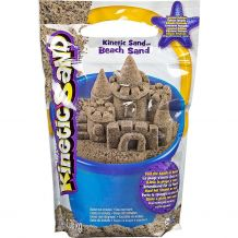 """Ігровий набір для творчості Kinetic sand """"Пляжний пісок"""" (натуральний колір) 1360 грам, 71435"""
