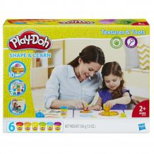 Ігровий набір Hasbro Play-Doh Текстура й інструменти, B3408