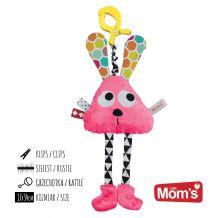 Развивающая игрушка Длинноножка розовая, Mom's care, 977