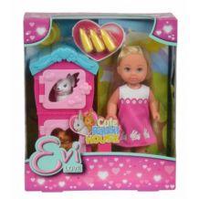 Кукольный набор Simba Evi Домик кроликов с аксессуарами, 5733065