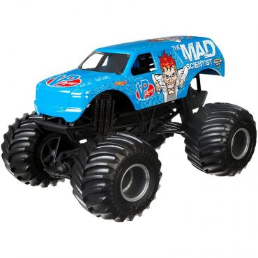 "Машина-позашляховик the Mad Scientist серії ""Monster Jam"" 18*12см Hot Wheels, DJX01 CBY61"