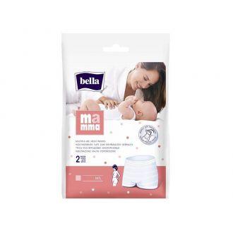 Труси післяпологові сітчасті багаторазового використання, M/L, Bella, 95477