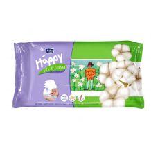 Вологі серветки Happy Silk & Cotton 64 шт, Bella, 21144