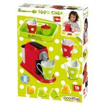 Набір посуду з кавоваркою, Ecoiffier, 2614