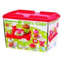 """Ігровий набір Chef-Cook """"Солодкий сніданок"""" з тістечками, Ecoiffier, 2611"""