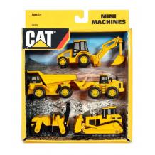 Набір міні-машинок CAT, 34601