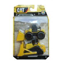Набір з двох міні-машинок навантажувач і бульдозер CAT, Toy State, 34635