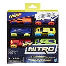 Nerf Nitro- дозаправка, комплект 6 машинок, С3172 / С3171