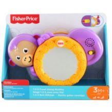 Развивающая игрушка Обезьянка музыкальная с зеркальцем, FISHER-PRICE, FHF 75