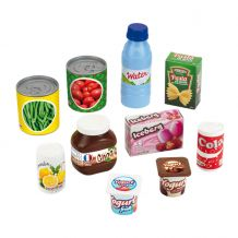 """Ігровий набір в сітці """"Харчові продукти з магазину"""", ecoiffier, 73433"""
