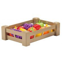 """Іграшковий набір фруктів у ящику """"Врожай"""" 15 предметів, ecoiffier, 0948"""
