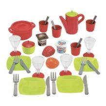 Игрушечный набор посуды с сушилкой, ecoiffier, 0606