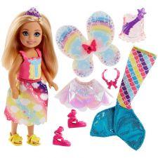Barbie Челсі Дрімтопія фея-русалка, FJC99 / FJD00