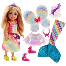 Barbie Челси Дримтопия фея-русалка, FJC99 / FJD00
