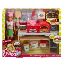 Barbie Шеф-повар в піцерії, FHR09
