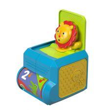 """Интерактивная музыкальная игрушка """"Львенок с сюрпризом"""" Fisher Price, FHF77"""